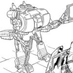 80-ton Stunt Loader Mech