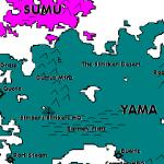 Map of Miranda